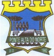 Brasão del município de Ponte Alta do Norte