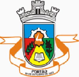 Brasão del município de Portão