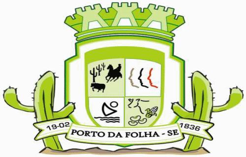 Brasão del município de Porto da Folha