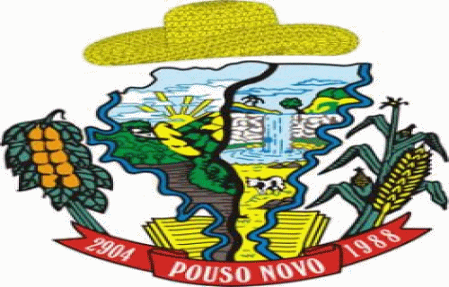 Brasão del município de Pouso Novo