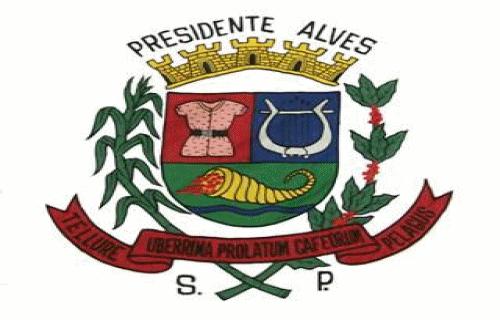 Brasão del município de Presidente Alves
