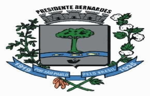 Brasão del município de Presidente Bernardes