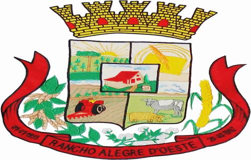 Brasão del município de Rancho Alegre D'Oeste