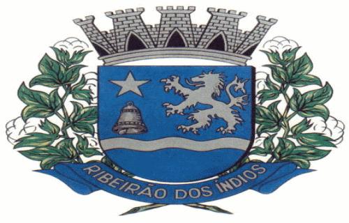 Brasão del município de Ribeirão dos Índios