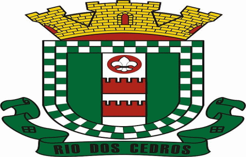 Brasão del município de Rio dos Cedros