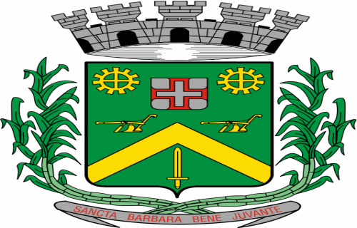 Brasão del município de Santa Bárbara d'Oeste