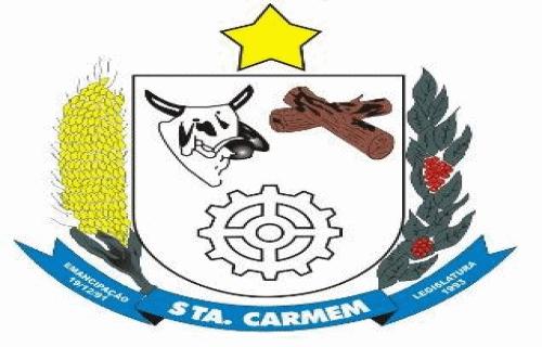 Brasão del município de Santa Carmem