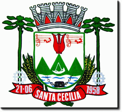 Brasão del município de Santa Cecília