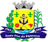 Brasão del município de Santa Cruz da Esperança