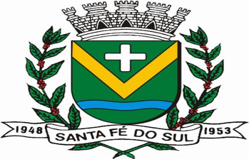 Brasão del município de Santa Fé do Sul