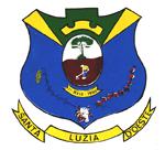 Brasão del município de Santa Luzia d'Oeste
