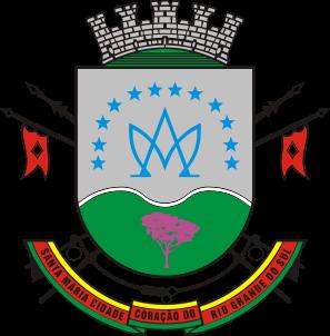 Brasão del município de Santa Maria