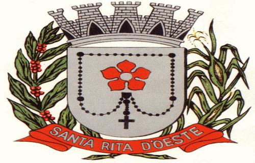 Brasão del município de Santa Rita d'Oeste