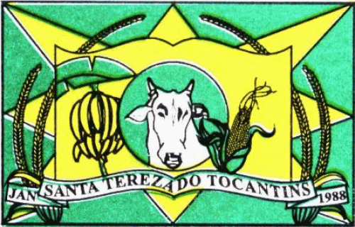 Brasão del município de Santa Tereza do Tocantins