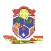 Brasão del município de Santa Terezinha