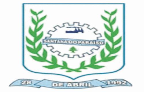 Brasão del município de Santana do Paraíso