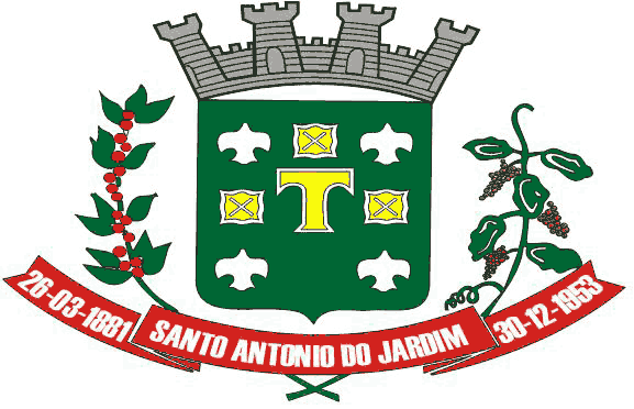 Brasão del município de Santo Antônio do Jardim