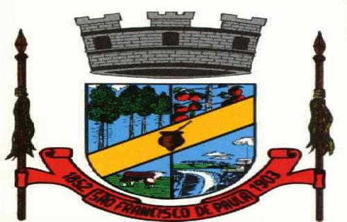 Brasão del município de São Francisco de Paula
