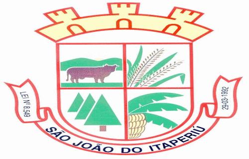 Brasão del município de São João do Itaperiú