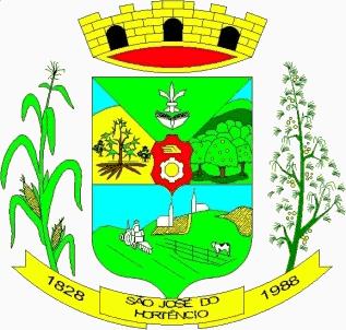 Brasão del município de São José do Hortêncio