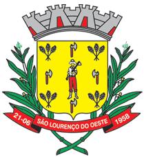 Brasão del município de São Lourenço do Oeste