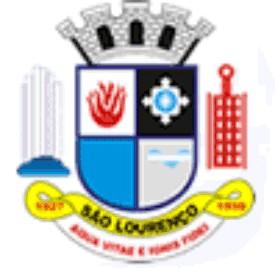 Brasão del município de São Lourenço