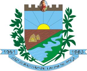 Brasão del município de São Sebastião de Lagoa de Roça