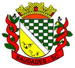 Brasão del município de Saudades