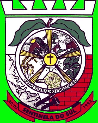 Brasão del município de Sentinela do Sul