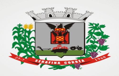Brasão del município de Serafina Corrêa