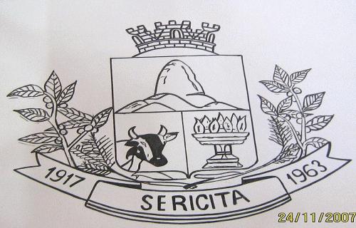 Brasão del município de Sericita