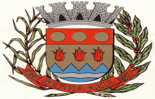 Brasão del município de Serra Azul