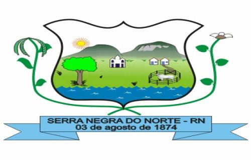 Brasão del município de Serra Negra do Norte