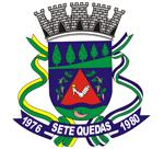 Brasão del município de Sete Quedas