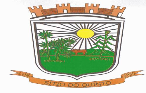 Brasão del município de Sítio do Quinto