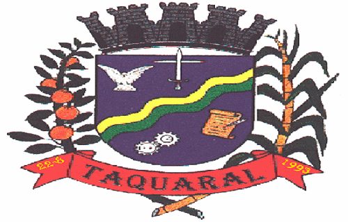 Brasão del município de Taquaral
