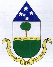 Brasão del município de Tefé