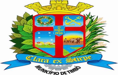 Brasão del município de Timbó