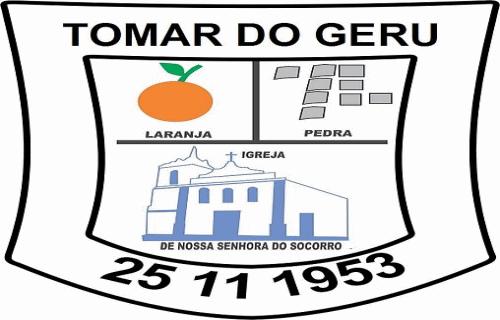 Brasão del município de Tomar do Geru