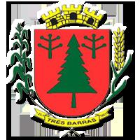 Brasão del município de Três Barras