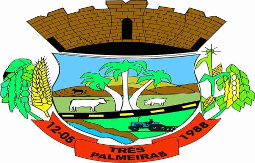 Brasão del município de Três Palmeiras