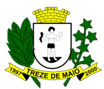 Brasão del município de Treze de Maio