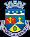 Brasão del município de Vitória da Conquista