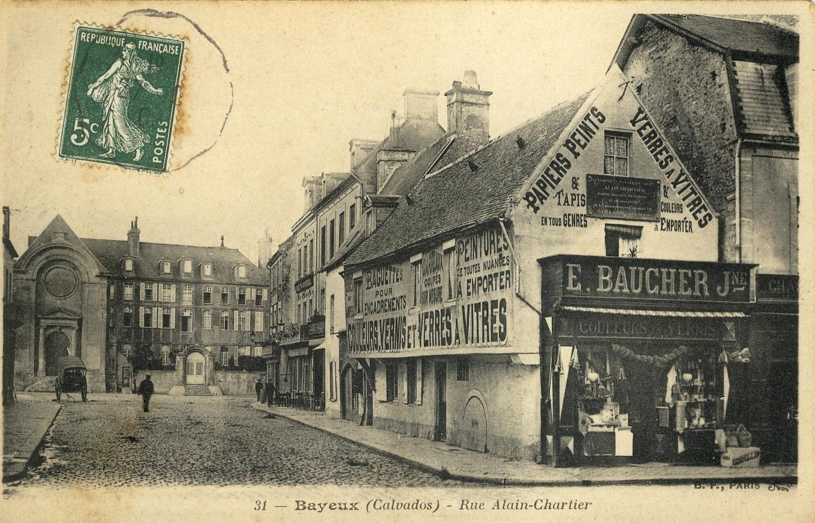 Photos et carte postales anciennes de Bayeux - Mairie de Bayeux et sa ville