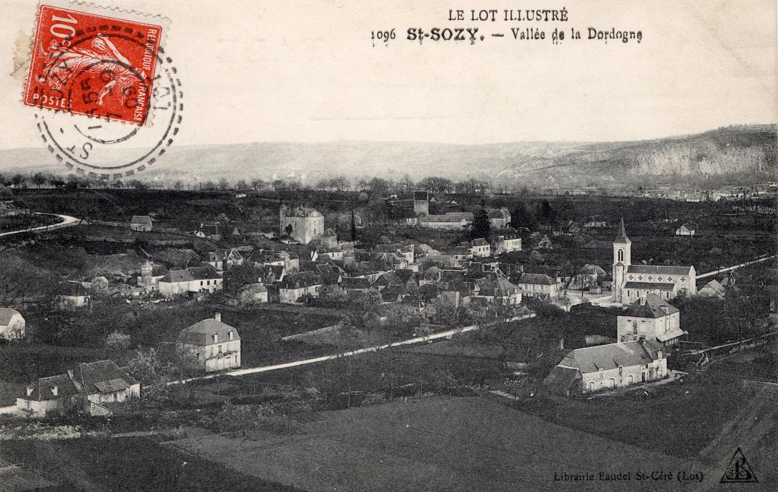 Mairie de Saint-Sozy, la Commune de Saint-Sozy et son