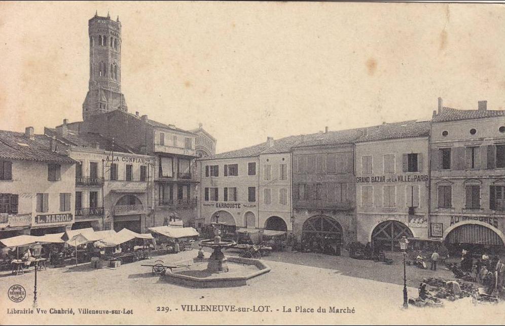 Ville de Villeneuve-sur-Lot, la Mairie de Villeneuve-sur-Lot et sa commune (47300)
