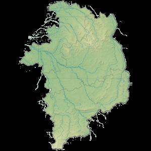 Carte du Conseil départemental du Cher