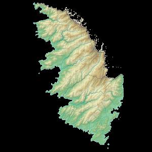 Carte du Conseil départemental de Corse du Sud