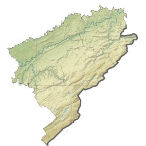 Carte du Conseil départemental du Doubs