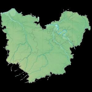 Carte du Conseil départemental de l'Eure